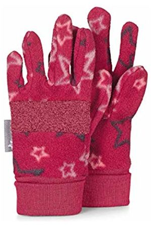 Sterntaler Girl's Fingerhandschuh Gants, Rouge (beerenrot 817), 3 Fille Gloves