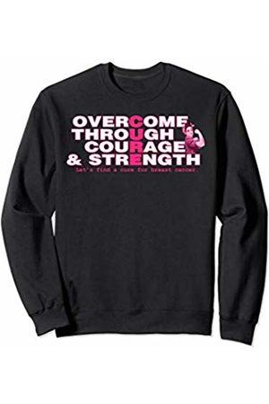 Pinktober Feminine Pink Breast Cancer tshirts Pinktober Breast Cancer Awareness tshirt Cure inspire ladies Sweatshirt