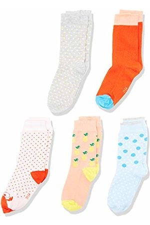 My Way MyWay Kids Socks Basic 10er Design Mix Rose Calf, 357), 31-34 (size: 31/34)