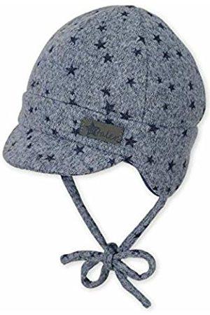 Sterntaler Baby Boys Schirmmütze, Sombrero para Bebés, Azul (Mittelblau 365) 35 Flat Cap