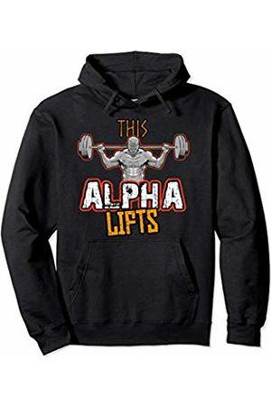 Gym Workout Mens Mens Alpha Phi Alpha Workout Pullover Hoodie