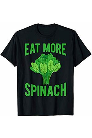 That's Life Brand EAT MORE SPINACH T SHIRT