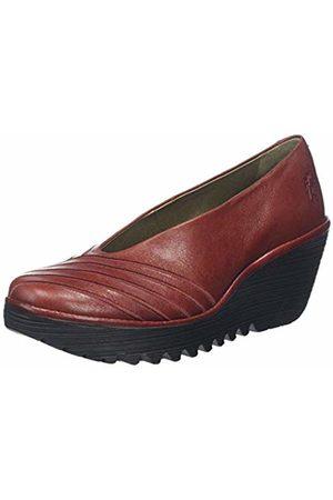 Fly London Women's YAKU063FLY Closed Toe Ballet Flats, ( 008)