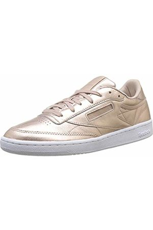 Reebok Women's's Club C 85 Melted Metal Fitness Shoes (Pearl Met Peach/ ) 8.5 UK