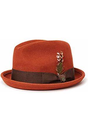 Brixton Gain Fedora Unisex Headwear, Unisex, 00001