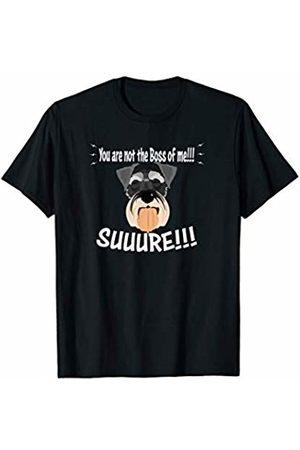 ToonTyphoon Women T-shirts - Smile Raising Schnauzer Not The Boss of Me T-Shirt