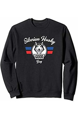 Siberian Husky Lovers Gifts Siberian Husky Dog Training Good Boy Sweatshirt