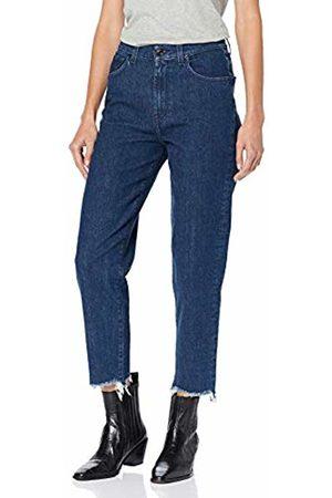 7 for all Mankind Women's Malia Straight Jeans, (Dark DP), W30/L27 (Size: 30/26