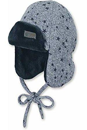 Sterntaler Baby Boys Bonnet De Bûcheron Avec Motif Étoile, Âge: 3-4 Mois, Taille: 39 cm, Bleu Beanie