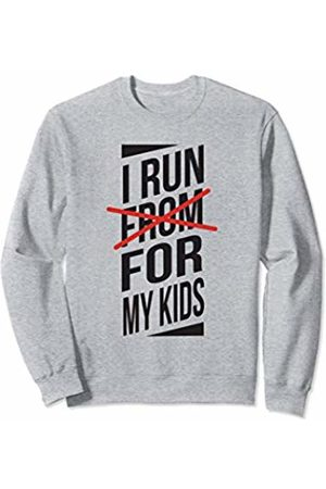 10K Mama Hoodies & Sweatshirts - I Run For My Kids - Funny Running Sweatshirt