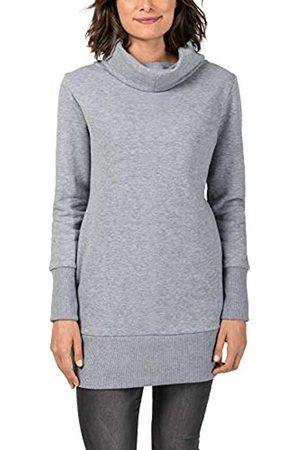 Timezone Women's Long Sweater Jumper, (Paloma Melange 2079)
