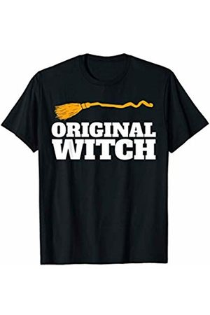 Miftees Original Witch funny Halloween Witch T-Shirt