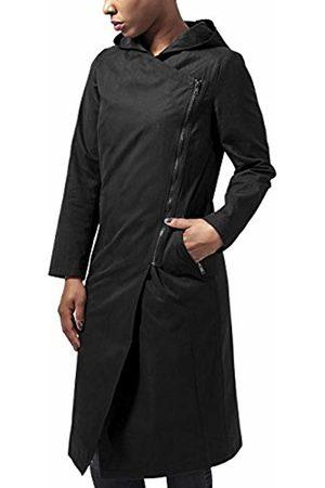 Urban classics Women's Ladies Peached Long Asymmetric Coat