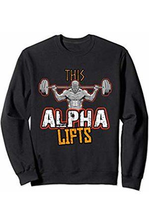 Gym Workout Mens Mens Alpha Phi Alpha Workout Sweatshirt