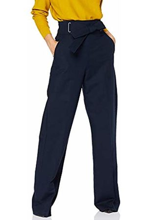Karen Millen Women's TIE Waist Eyelet Trouser