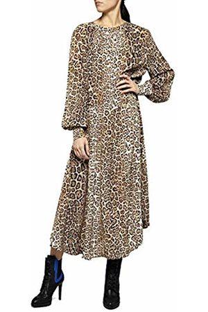 Replay Women's W9506 .000.71824 Dress, ((Ecru/ / 10)
