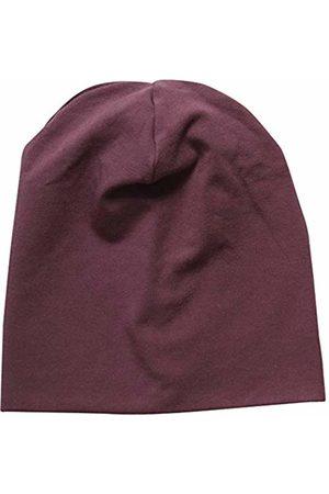 Green Cotton Baby Girls' Alfa Beanie Hat, Plum 019231101