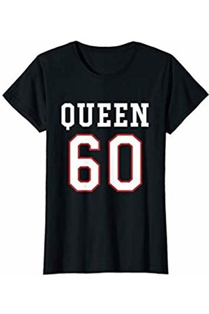 Havous Womens 60th Birthday Gift Queen 60 Year Old T-Shirt