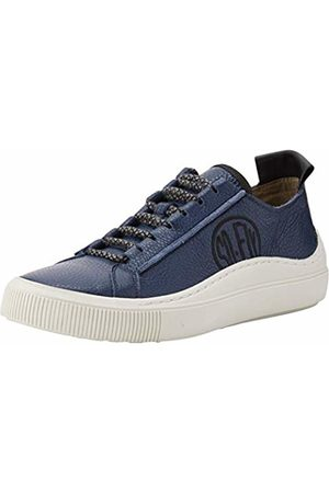 Fly London Men's SATE384FLY Trainers, (Navy/ (Offwhite Sole) 002)