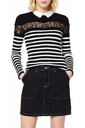 Morgan Women's 192-manor.n T-Shirt, Noir/Off
