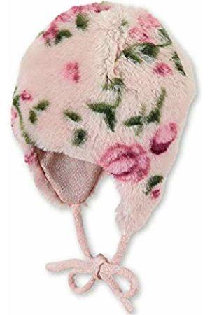 Sterntaler Baby Girls Bonnet Inca Pour Avec Motif De Fleurs, Âge: 3-4m, Taille: 39 cm, Violet Clair Beanie