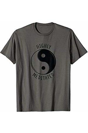 Funny Yoga Zen Funny Yoga Highly Meditated Yin Yang Meditation T-Shirt