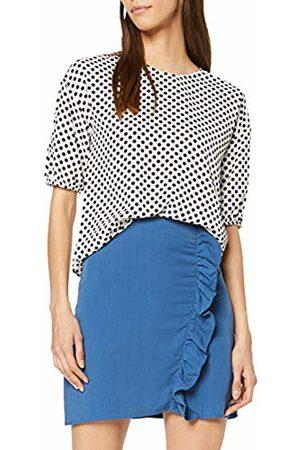 Koton Women's Damenrock Mit Asymmetrischem Rüschenaufsatz Skirt