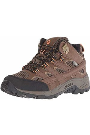 Merrell Unisex Kid's M-Moab 2 Mid Waterproof High Rise Hiking Boots, Earth