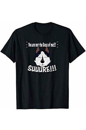 ToonTyphoon Funny Siberian Husky Not The Boss of Me T-Shirt