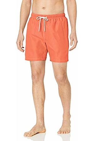 "28 Palms 6"" Inseam Swim Trunk Coral"