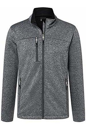 James & Nicholson Men's Softshell Jacket, Dark-Melange/