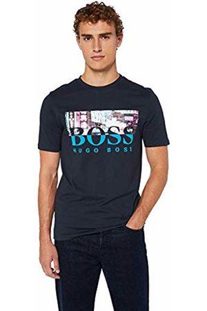 HUGO BOSS Men's Trek 4 T-Shirt, (Dark 404)