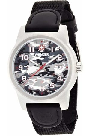 Wenger Camo Men's Quartz Watch with Dial Analogue Display and Nylon Strap 010441108