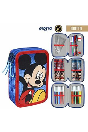 Artesanía Cerdá Plumier Triple Giotto Mickey Pack Pocket