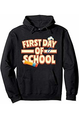 First Day At School Tees & Co. First Day Back To School Gift For Boys & Girls Pullover Hoodie