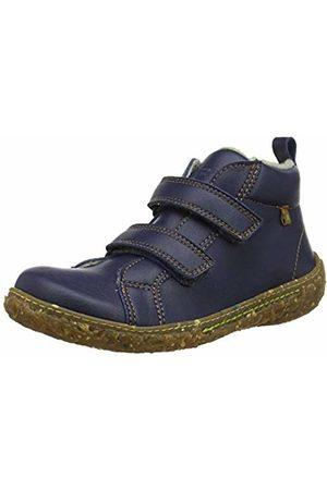 El Naturalista Unisex Kids' E768t Cross Navy/Nido Slouch Boots