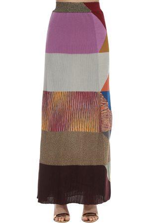 Missoni Wool Blend Knit Skirt