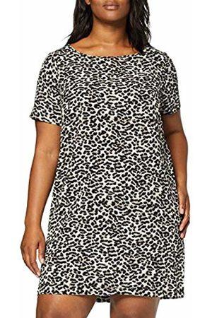 Carmakoma Women's Carluxeve Ss Abk Tunic Dress Leo AOP ( Leopard)