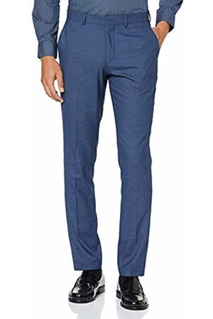 Selected Homme NOS Men's Slhslim-mylologan Struc TRS B Noos Suit Trousers, Dark