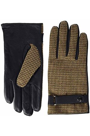 Scotch&Soda Men's Classic Wool-panelled Leather Gloves (Combo B 0218)