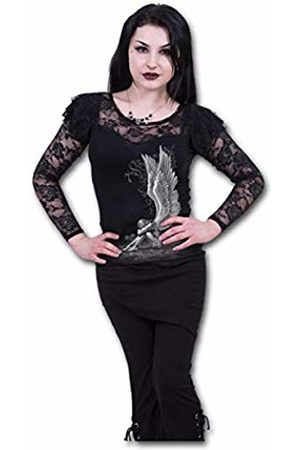 Spiral Direct Women's Enslaved Angel - Lace Layered Long Sleeve Top 001