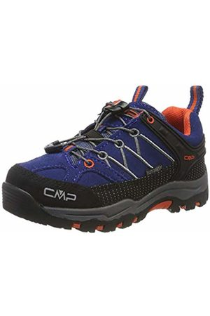 CMP Unisex Kids' Rigel Low Rise Hiking Shoes, ((Marine-Tango 05md)