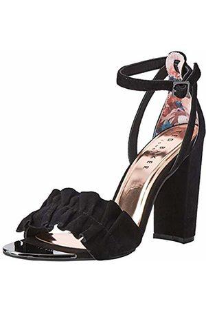 Ted Baker Ted Baker Women's Flouncy Open Toe Heels, ( Blk)