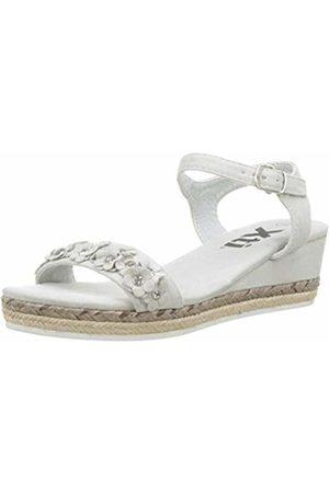 Xti Girls' 56749 Open Toe Sandals, Hielo