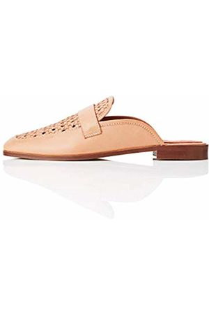 FIND Backless Woven Loafer Mules, )