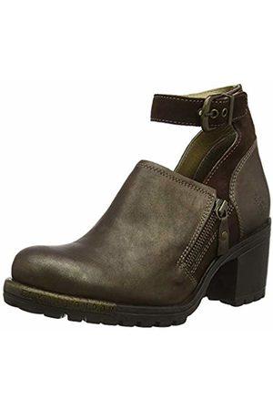 Fly London Women's LEPU306FLY Ankle Strap Heels, (Dk 011)