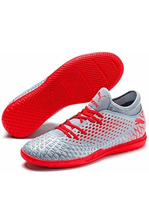 Puma Men's Future 4.4 IT Futsal Shoes, (Glacial -Nrgy High Risk 01)