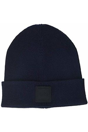 HUGO BOSS Men's Foxx Beanie, Dark 404