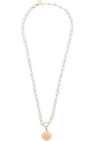 Anissa Kermiche Louise D'or Coin Diamond & Pearl Necklace - Womens