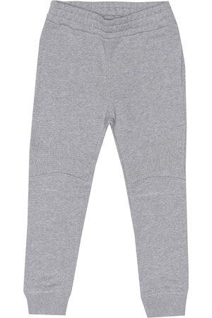Balmain Ribbed cotton-jersey trackpants